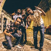 "Lupe de Lupe durante a tour ""Sem sair na Rolling Stone"" na Rua Chile em Natal/RN"
