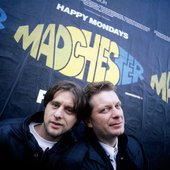 Shaun Ryder with Tony Wilson