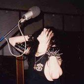 Quorthon in the studio