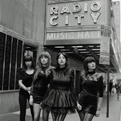 Dum Dum Girls @ Radio City Music Hall