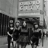 Dum Dum Girls @ Radio City Music Hall