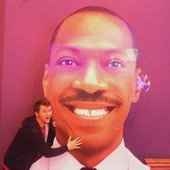 Chase and Eddie Murphy
