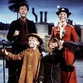 Dick Van Dyke, Julie Andrews, Karen Dotrice & Matthew Garber