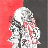 Back artwork for the album