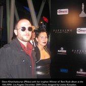 Eileen Khatchadourian and Producer/Guitarist Mihran Gurunian