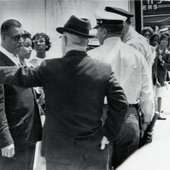 Al at Civil Rights Protest, Birmingham, Alabama