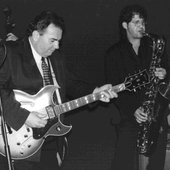 The Duke with Sax Gordon