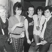 Bush Tetras with producer Topper Headon