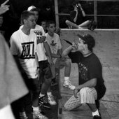 Up Front at Scratch's ramp jam, Summer 1989