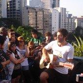 Show de lançamento do EP no Vão Livre do MASP - 29/08/2009