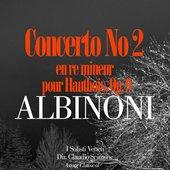 Concerto No. 2 en re mineur pour Hautbois, Op. 9: 2e mouvement: Adagio