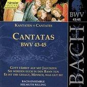 Bach: Cantatas BWV 43-45
