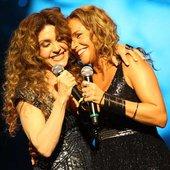 Daniela Mercury e Wanderléa