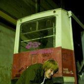 Фотосессия в трамвайном депо