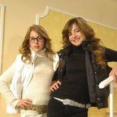 Laura Esquivel y Brenda Asnicar