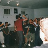 Carry On circa 2001. i think the venue was called Our House. i do know it was in the fucking ghetto. near compton. ask Marlon for details.