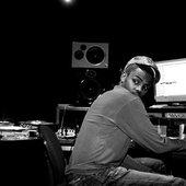DJ Cleo in studio (Fader)