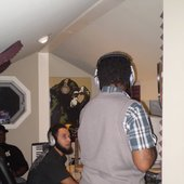 Recording session with MaC, Shawn Xavien and Chrys (The Music Room, VA)