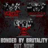 BONDED BY BRUTALITY SPLIT W/SANGRE AND NECROCEST OUT NOW ON AUTOPSY RECORDS!