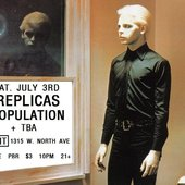 Replicas & Population @ The Exit, Chicago, IL, USA, July 3rd 2010 (poster)