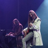 "Steinar \""Sverd\"" Johnsen and Tore Moren live at Metalmania 2005"