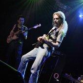 Guthrie Govan on stage