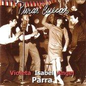 Violeta, Isabel y Ángel Parra