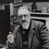 Sir Granville Bantock  by Press Portrait Bureau bromide print, early 1930s