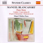 BLANCAFORT: Complete Piano Music, Vol. 3