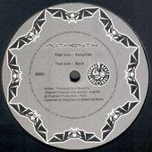 """'Vampires/Back' 12\"""" Label"""