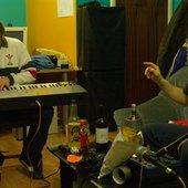Chris on Keyboard