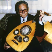 George Michel - Oud Player from Egypt (PNG)