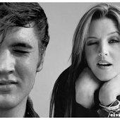 Elvis & Lisa Marie Presley