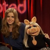 Amy Adams and Miss Piggy