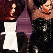 Naya Rivera & Amber Riley