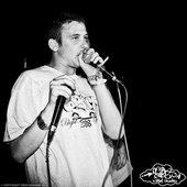 Dirty Dike at Sika Studios Hip Hop Squat at Nozstock 2011. Photo: Zinzi Graham