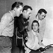 Elvis Presley, Jerry Lee Lewis, Carl Perkins