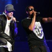 Jay-Z & Eminem DJ Hero Event