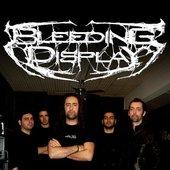 BLEEDING DISPLAY - BAND