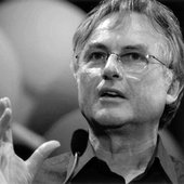 Richard Dawkins b&w
