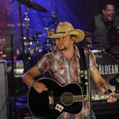 Jason Aldean performs the Live on Letterman webcast concert 9-10-12