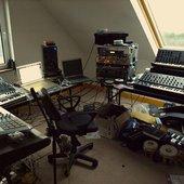 Sunken Foal's home studio