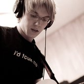 Ilya while recording
