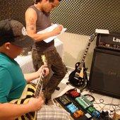 Gravação - Guitarras