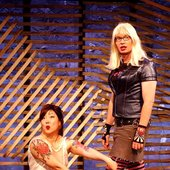 Kelly with Margaret Cho in The Sensuous Woman