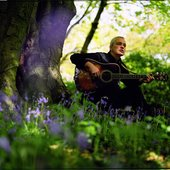 Bonar Hutchison Guitar & Bluebells: Photo by Michael Prince