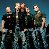 Nickelback Group Photo
