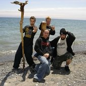 Rituals Preformed In Front Of Lake Ontario