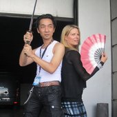 Akira & Mary at Japan Expo 2011