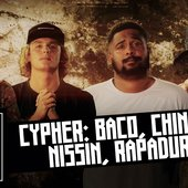 Rapadura, Baco Exu do Blues, Nissin & Diomedes Chinaski